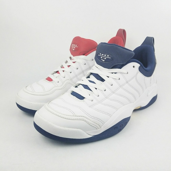 new product 1b25e c23dd Nike Air Oscillate Tennis Shoes White Olympic Gold.  M5ad6bf933a112ebcb48af8fa